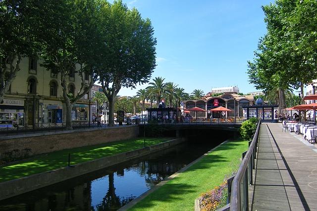 perpignan river