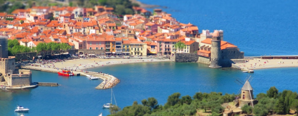 Collioure Town South Of France View From Alosa Apartment