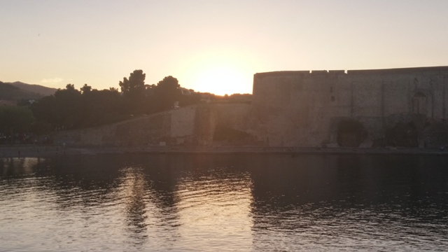 Sunset In Collioure